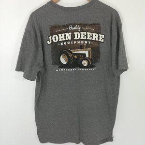 John Deere T-Shirt Size XL Short Sleeve Logo